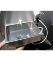 Detachable Aluminum Sink - Side Mount
